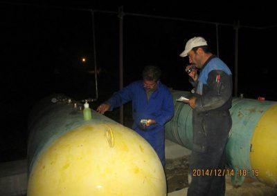 خدمات مربوط به تاسیسات گاز مایع - شرکت مهندسی و بازرسی فنی رایان انرژی جم