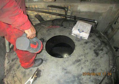 لایروبی مخازن زیرزمینی مربوط به حایگاه های انتقال فرآورده نفتی - شرکت مهندسی و بازرسی فنی رایان انرژی جم