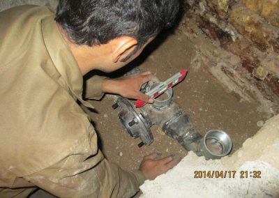 تعمیرات مخازن زیرزمینی مربوط به حایگاه های انتقال فرآورده نفتی - شرکت مهندسی و بازرسی فنی رایان انرژی جم